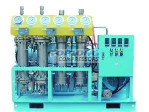 100m3 Oil free industrial reciprocating pure oxygen compressor supplier