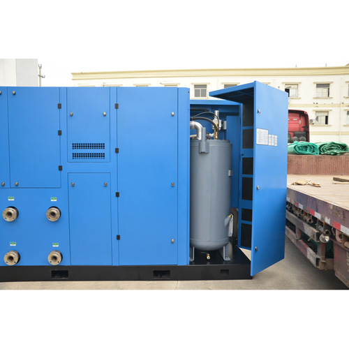 200kw 40bar Oil lubricated Pet bottle blowing screw air compressor
