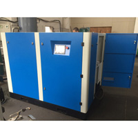 75kw Oil lubricated Pet bottle blowing screw air compressor