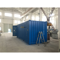Container type movable Psa oxygen generator