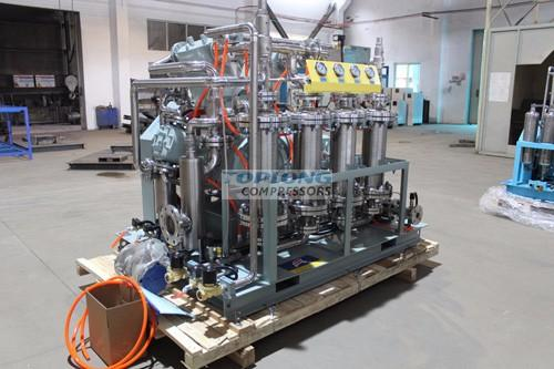 industrial oil free piston carbon dioxide compressor extraction