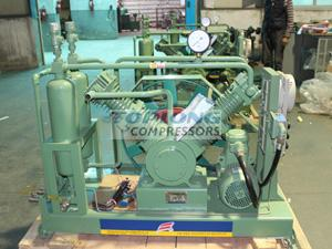 low pressure reciprocating recycle compressor for hydrogen in refinery