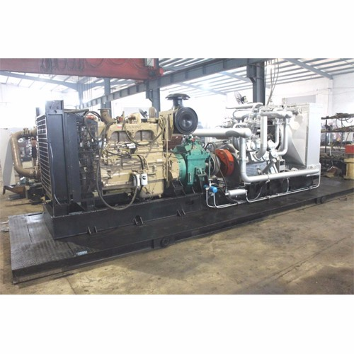 High pressure diesel engine air compressor