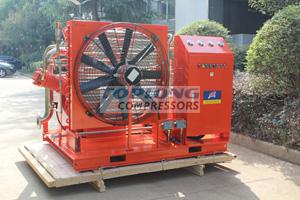 quiet oil free sf6 recovery gas compressor