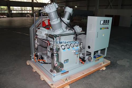 water cooled recovery helium balloon compressor